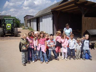 Bauernhof als Klassenzimmer